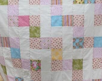 Cotton Candy Lap Quilt/Sofa Quilt