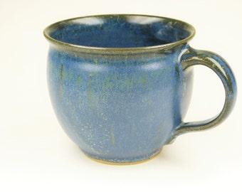 Cup bulge blue