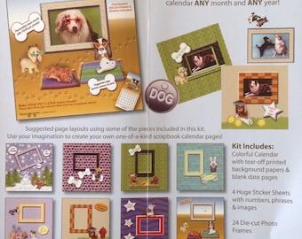 Calendar Scrapbook Kit (12 Month)