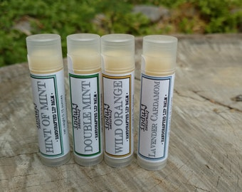 4 tubes of lip balm, you pick!