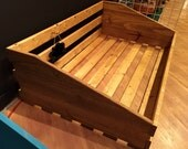 CLEARANCE! Handcrafted Rustic Dog Bed - Large