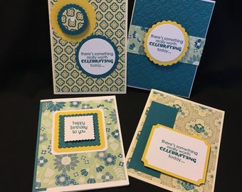 Stampin' Up! Handmade Birthday Card set