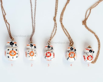 BB 8 Star Wars inspired Necklace