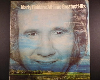 Marty Robbins' All-Time Greatest Hits Vintage Vinyl LP Gatefold