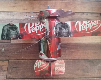 Handmade Popcan airplanes, Popcan airplanes, Recycled art decor, Recycled airplanes, Father's day gifts, Garden decor, Recycled garden decor