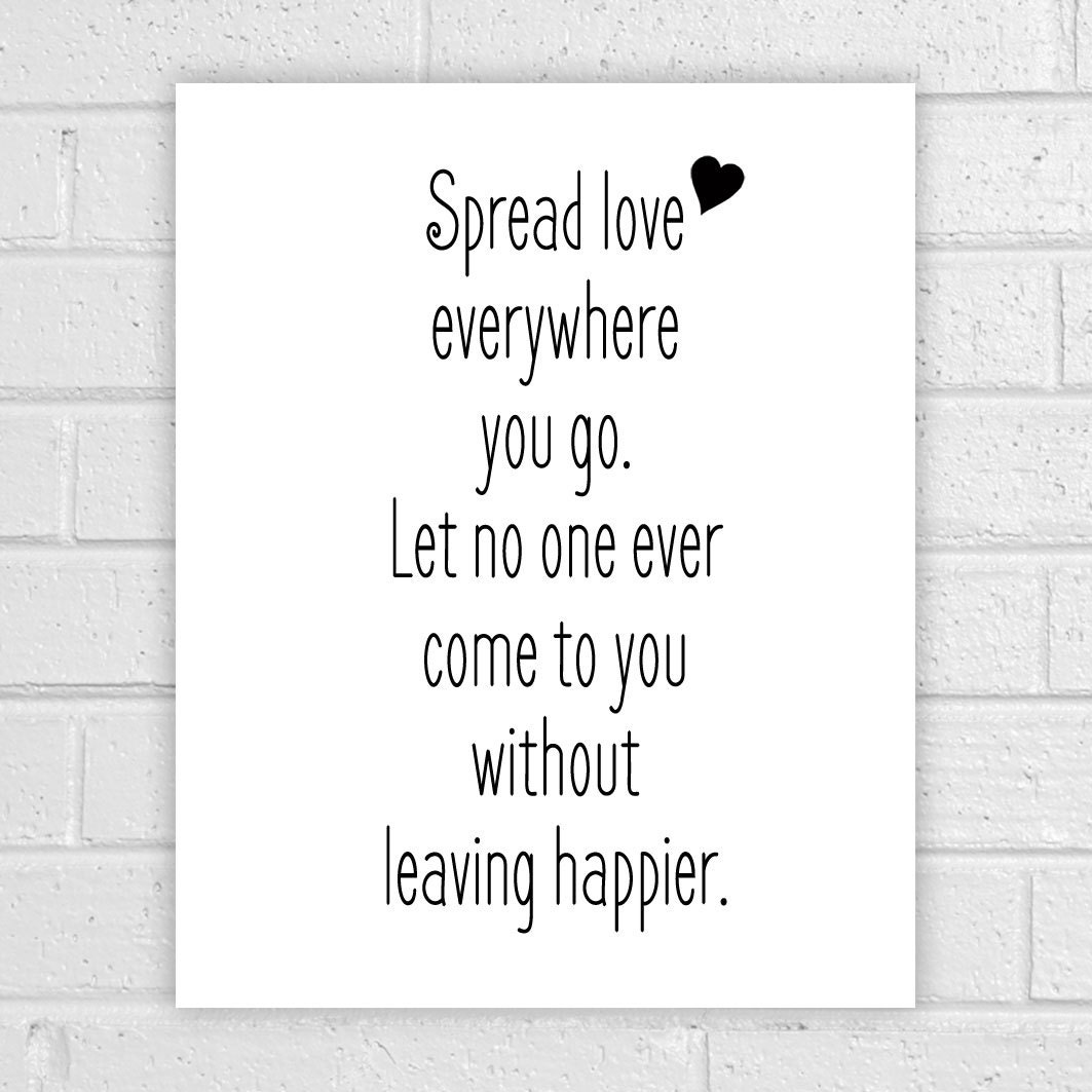 Spread Love Quotes