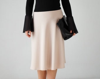 A line midi skirt | Etsy