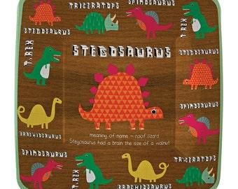 Dinosaur Party Plates | Dinosaur Paper Plates | Party Plates | 12 Paper Plates in 4 Designs | Paper Plates