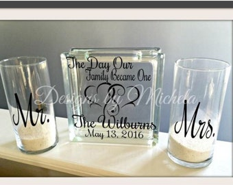 Wedding Sand Ceremony Extra Sand Vase for Child