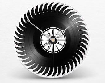 Watch wall clock vinyl saw