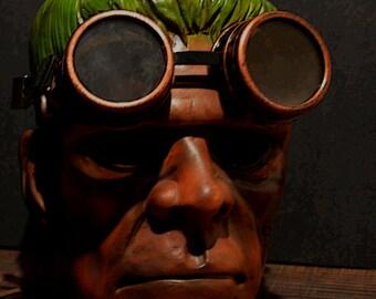 """Steampunk  Frankenstein 16""""x20"""" Photo Art Download"""