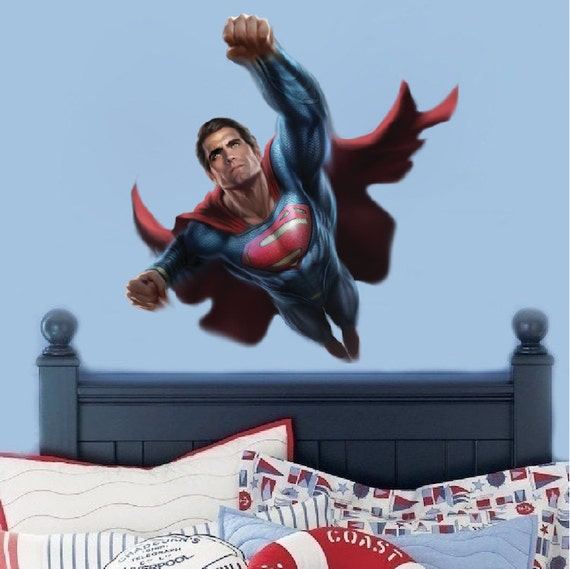 Superman Wall Decal Graphic by Prime Decal