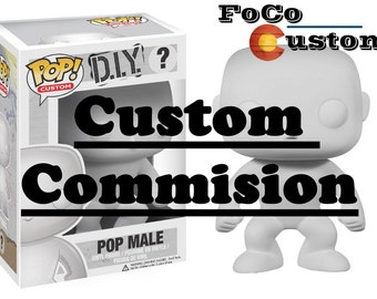 Custom Funko Pop! Commision (Please Send Me a Message Before Purchasing to Consult & Make Sure That Your Idea is Possible!)