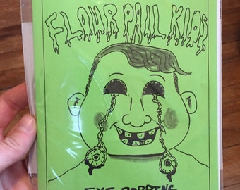 Flour Pail Kids issue 3 Rochester NY skateboaring gross garbage zine