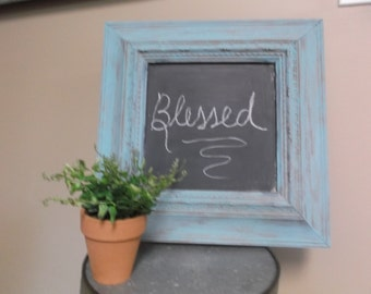 Chalk Painted Framed Chalk Board