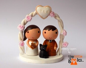 Wedding Cake Topper - Custom Wedding Cake Topper