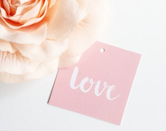 Luxury Linen love Mini Gift Tags
