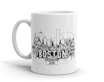 Boston Marathon Mug