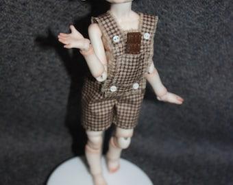 "Porcelain BJD Ball jointed doll mouse ""Tofu"" by Olesya Kudryashova."
