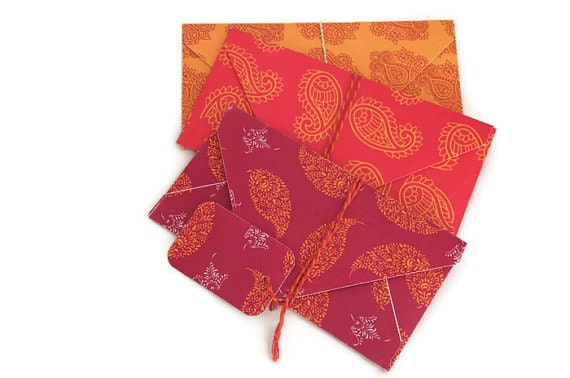 Wedding Gift Envelope India : Paisley envelopesshagun envelopesindian wedding envelopesgift ...