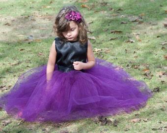 Sewn Tulle Dress, flower girl dress,Soft Tulle,Wedding Dress, Flower Girls CUSTOM sewn dress