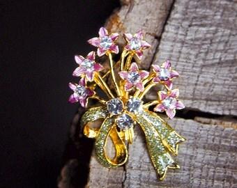 Move Flower Brooch #5459