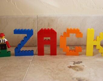 Kid's Name in LEGO Bricks