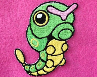Caterpie Iron-On Patch