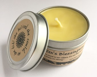 Blessingway Candles | Blessingway | Mother Blessing | Blessingway Supplies | Birthing Goddess | Guest Candles | Ceremonial Candles