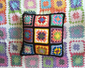 Classic Granny Square Cushion