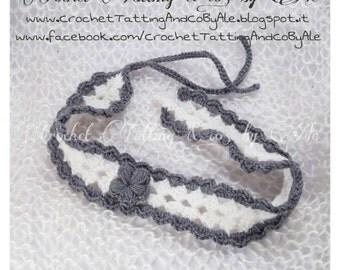 Hair band crochet headband baby wool