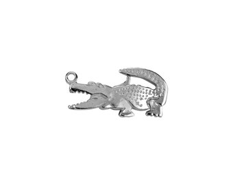 Alligator Clasp-Sterling Silver (#5565)