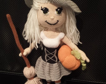 crochet doll witch