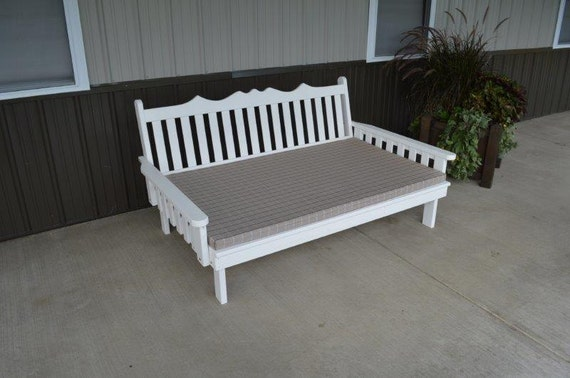 Daybeds Made In The Usa : Pine twin size royal english daybed unfinished handmade