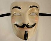 Maschera di V per Vendetta, maschera Anonymous, maschera Guy Fawkes - M136