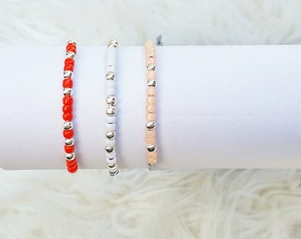 Bracelet with customizable sentence in morse code