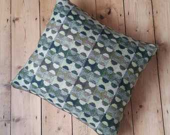 "Melin Tregwynt Throw Cushion 18""x17"" with Feather Inner"