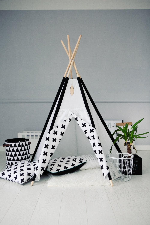 Tipi Kids Play Teepee Tent Wigwam Zelt Tente Playtent Kids