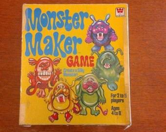 Monster Maker Game - vintage 1977