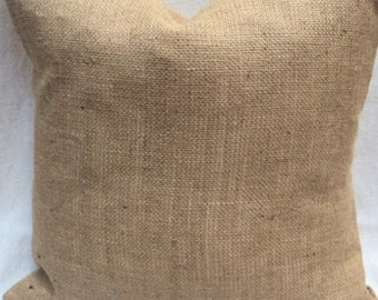 BURLAP indoor outdoor envelope pillow cover