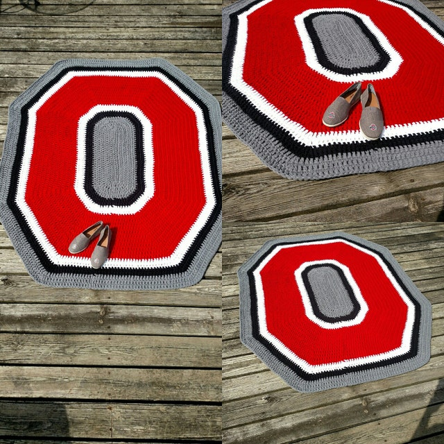Ohio State Baby Blanket Sets Crochet Rugs By
