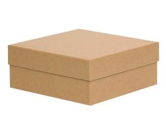 Kraft Gift Box 9cm x 9cm