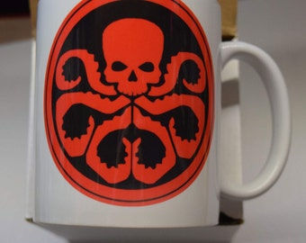 Hydra and Shield Mugs