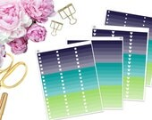 SBC July Ombre Boxes -- Matte Planner Stickers