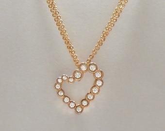 PASSION Diamond Heart Pendant