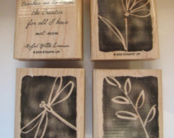 Stampin Up All I Have Seen Stamp Set Retired