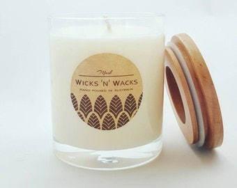 Musk Soy Candle - scented candles, soy wax candle, gift