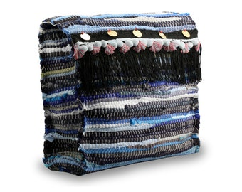 Kourelou backpack in boho style with fringes