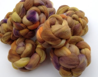 Hand-painted Wool Roving