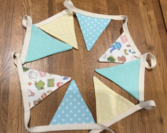 Nursey bunting or baby shower bunting